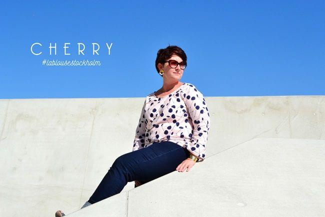 Ma blouse cherry