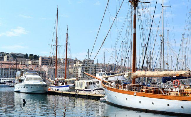 Comme dans une bulle, Marseille…