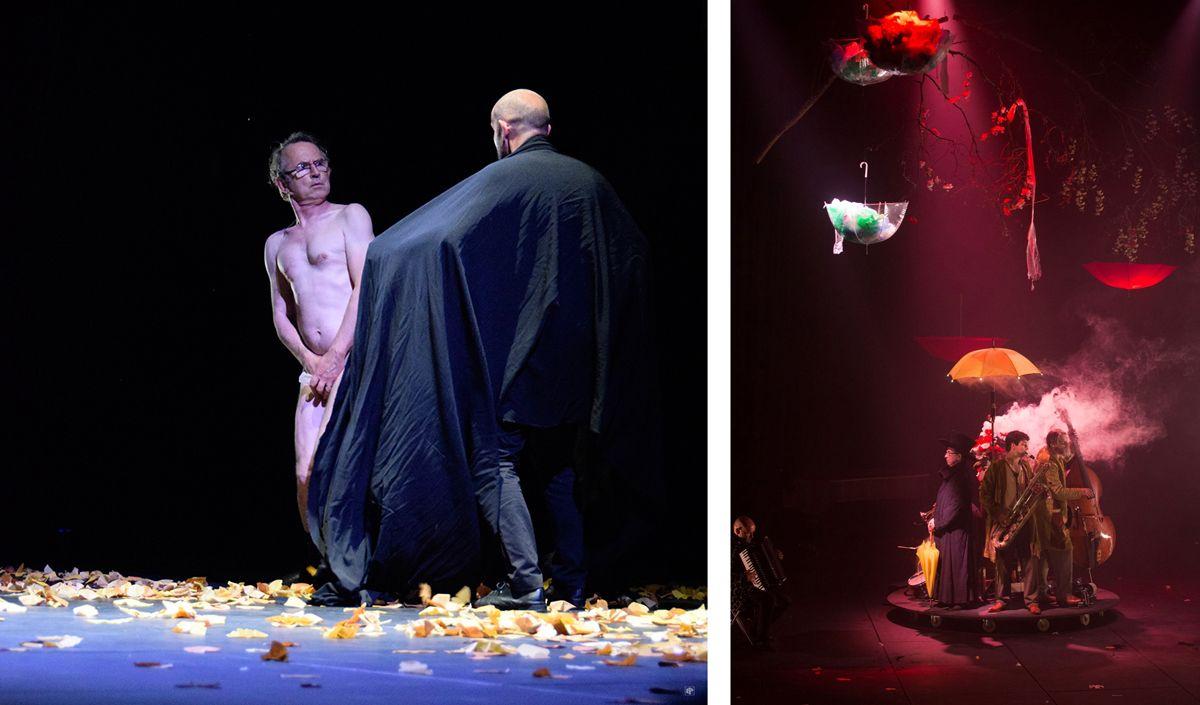 Cirque Plume extrait du spectacle La dernière saison